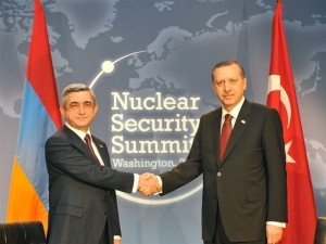 Sarkisian, Erdogan Don't See Eye to Eye