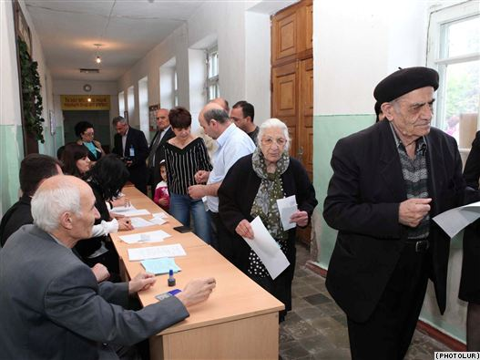 Karabakh Holds Parliamentary Elections